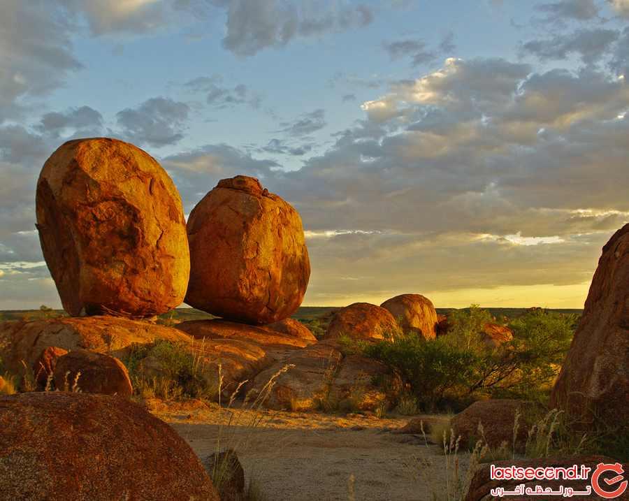 karlu karlu دره ای عجیب و زیبا در استرالیا