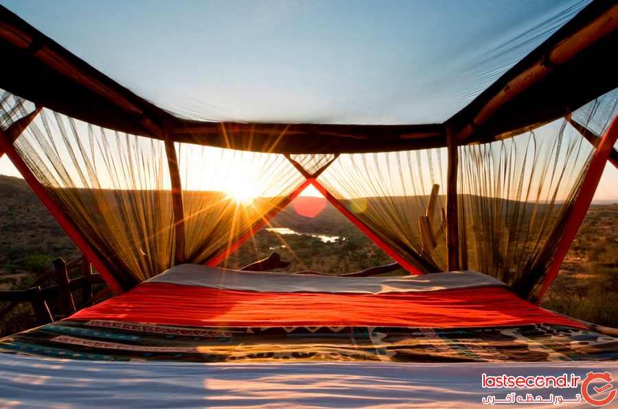 اقامتگاه هایی برای خوابیدن زیر سقف آسمان