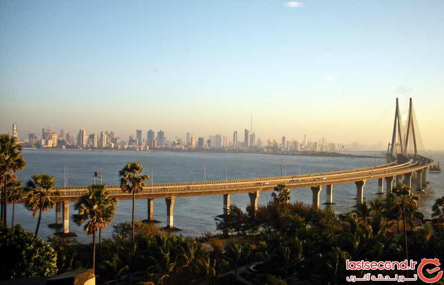 پل Bandra Worli Sea Link