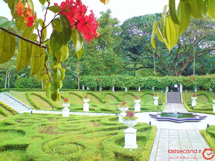 باغ های گل و ارکیده ی کوالالامپور