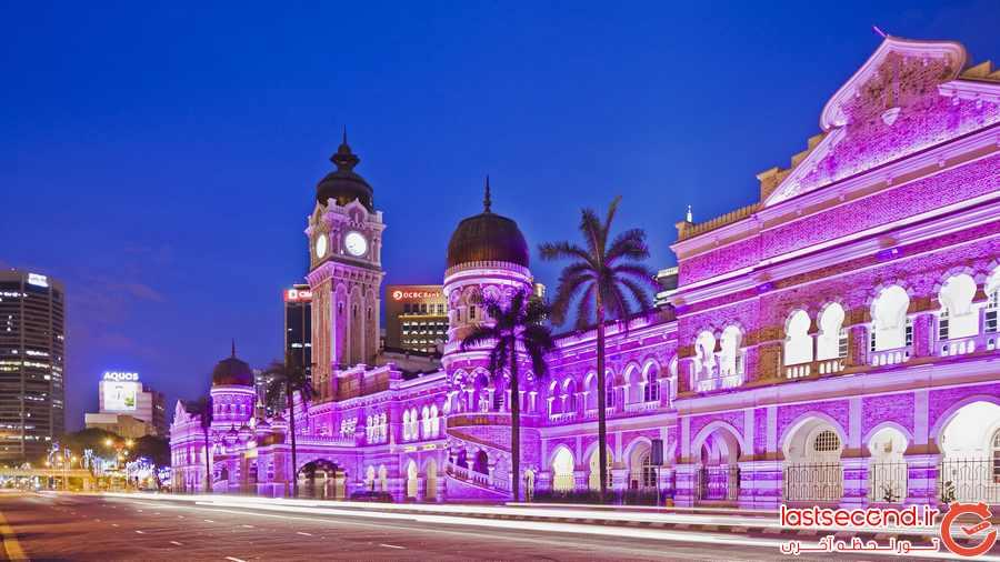 میدان استقلال ( مرداکا) و گالری شهر کوالالامپور