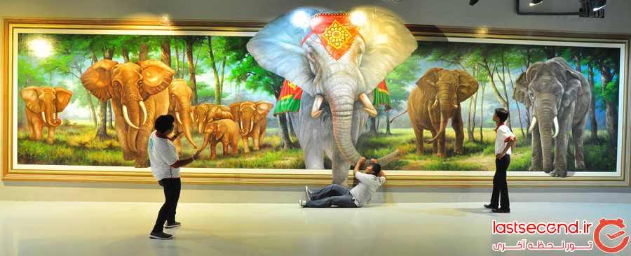 موزه سه بعدی Art in Paradise