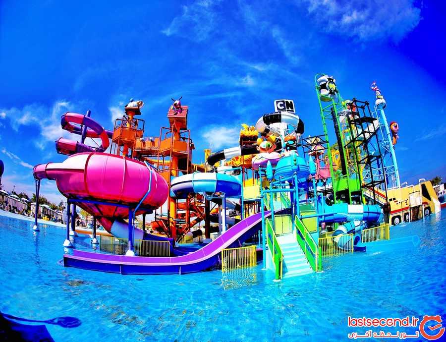 یک پارک آبی خاص در تایلند