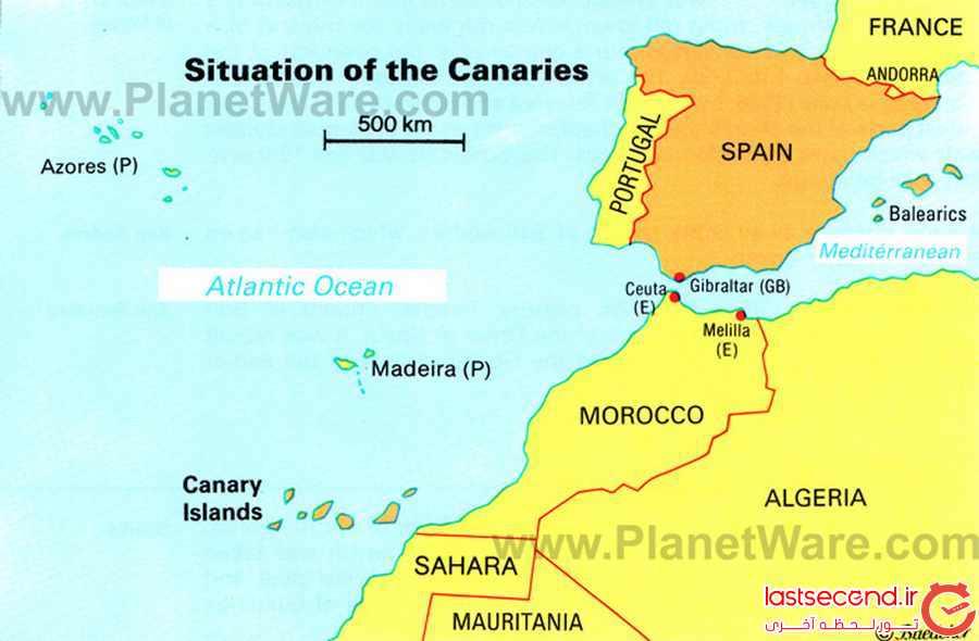 تصاویری از جزیره ی قناری