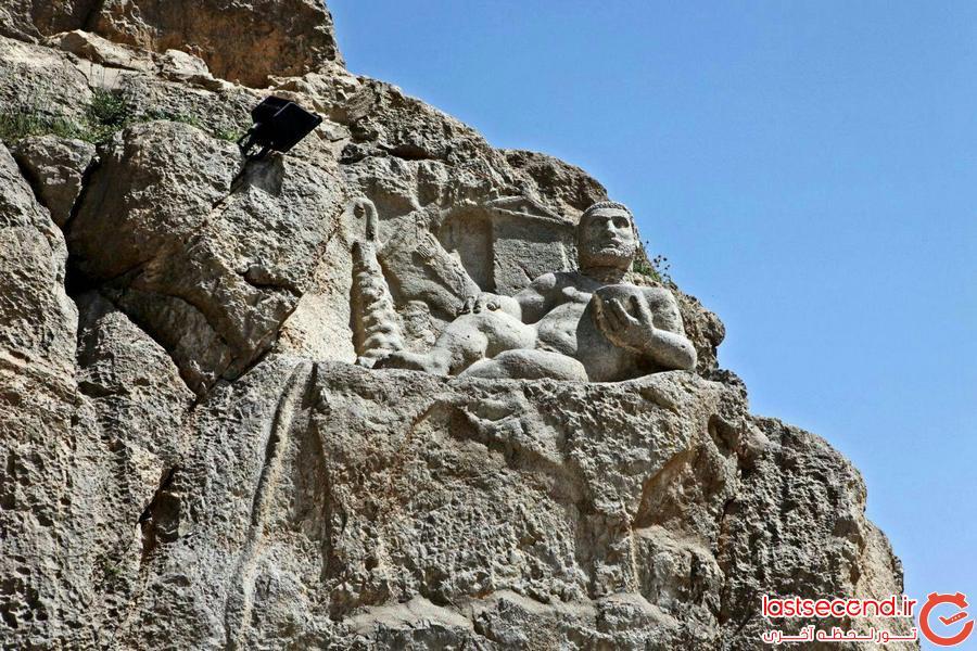 4 از هرکول ۲۲۰۰ ساله کرمانشاه، بیشتر بدانید