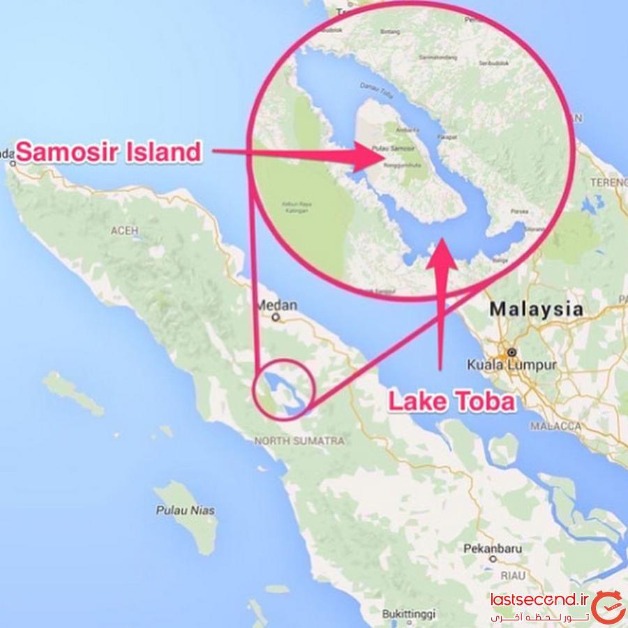 سفرنامه دریاچه توبی