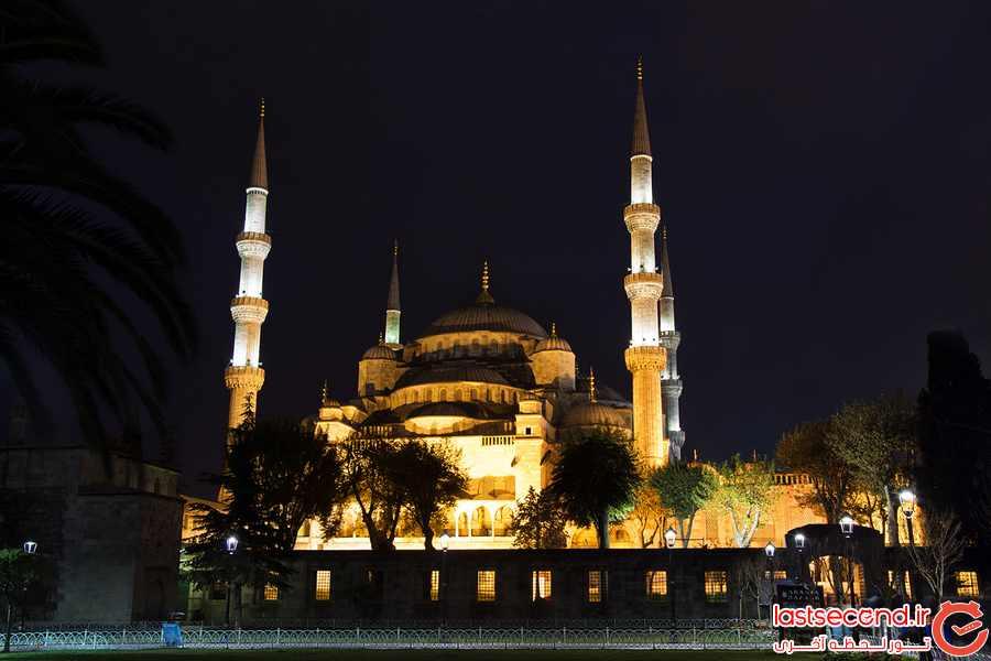 استانبول، شهر مساجد