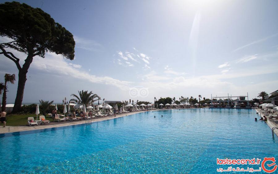 سفرنامه آنتالیا، هتل ریکسوس پرمیوم پر آوازه