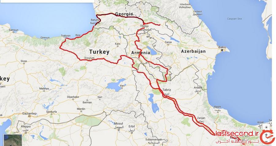 سفرنامه ارمنستان-گرجستان