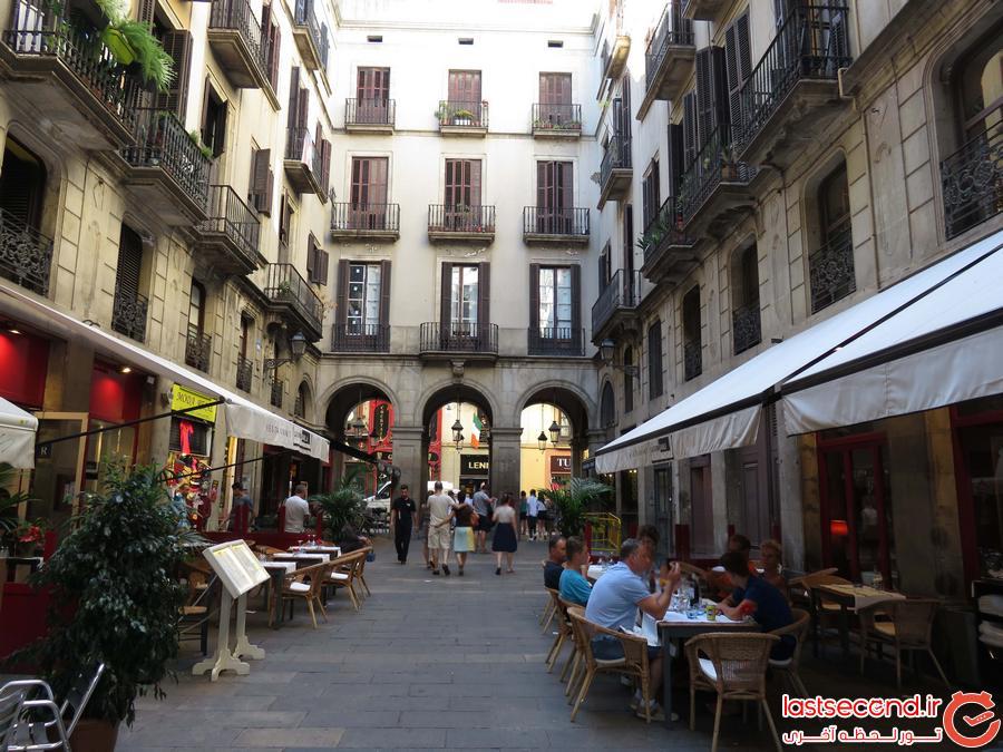 سفرنامه بارسلونا