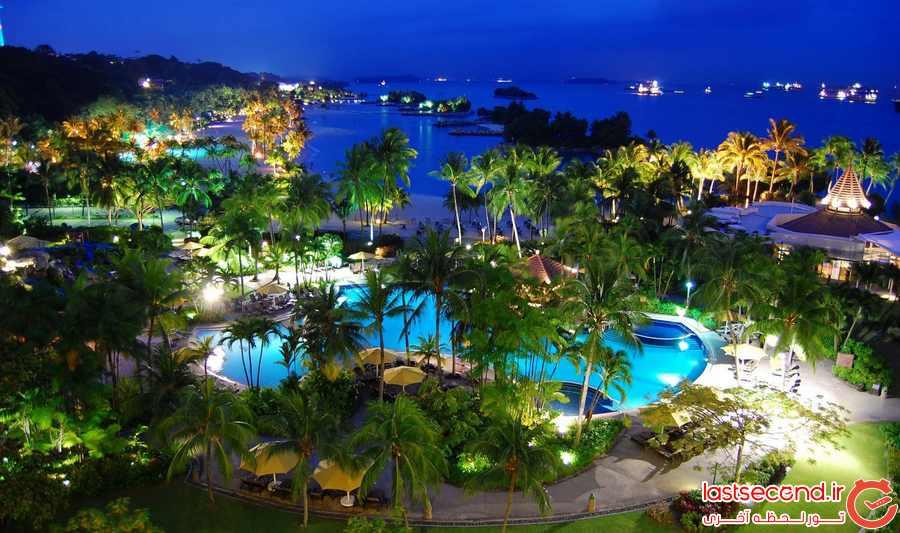 سنگاپور -جزیره ی سنتوسا