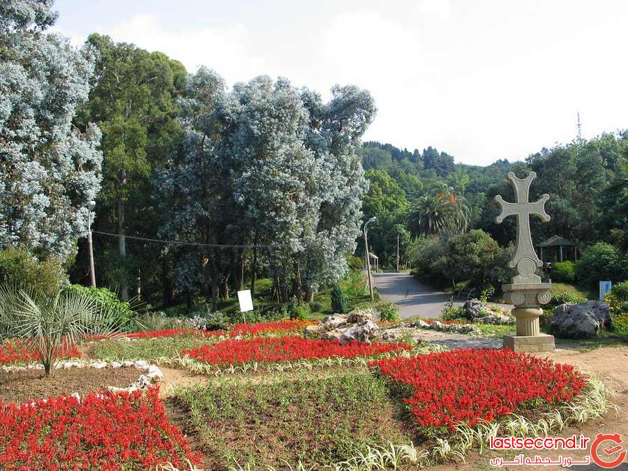 باغ ملی گیاه شناسی (Batumi Botanical Garden)
