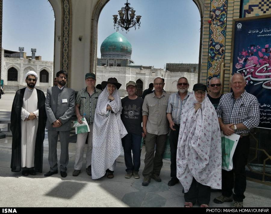 جهانگردان موتورسوار در ایران