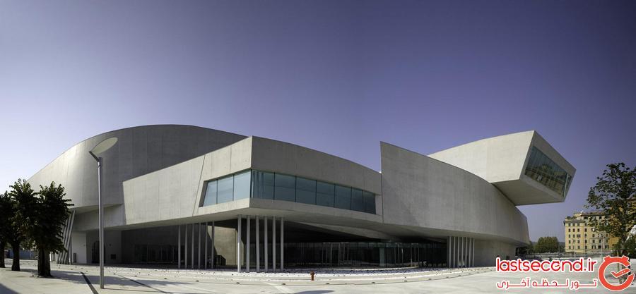 موزه ی هنرهای قرن 21 Maxxi