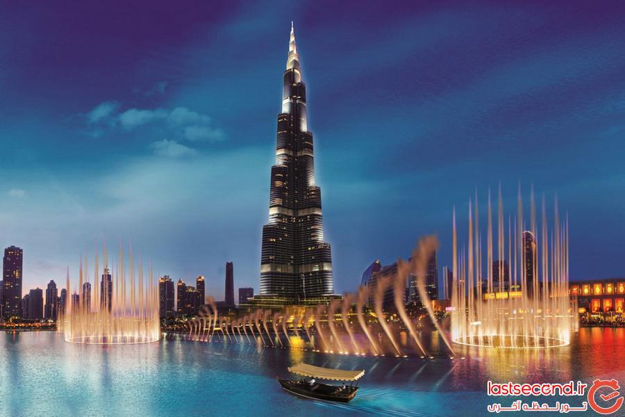 دبی و مراکز خرید هیجان انگیزش!