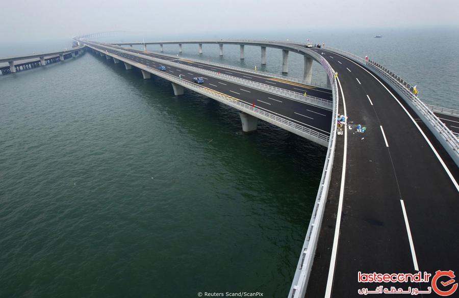 طولانی ترین پل دریایی جهان چینی است!