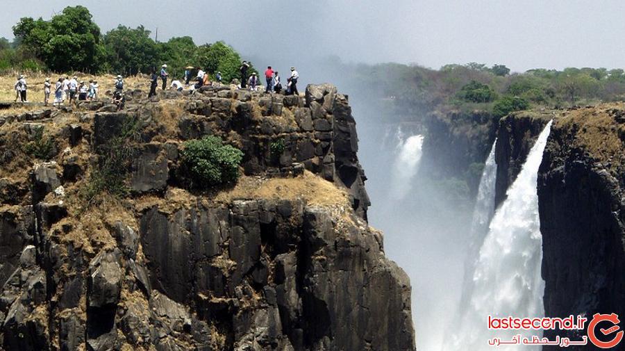 استخر شنای شیطان در زیمباوه