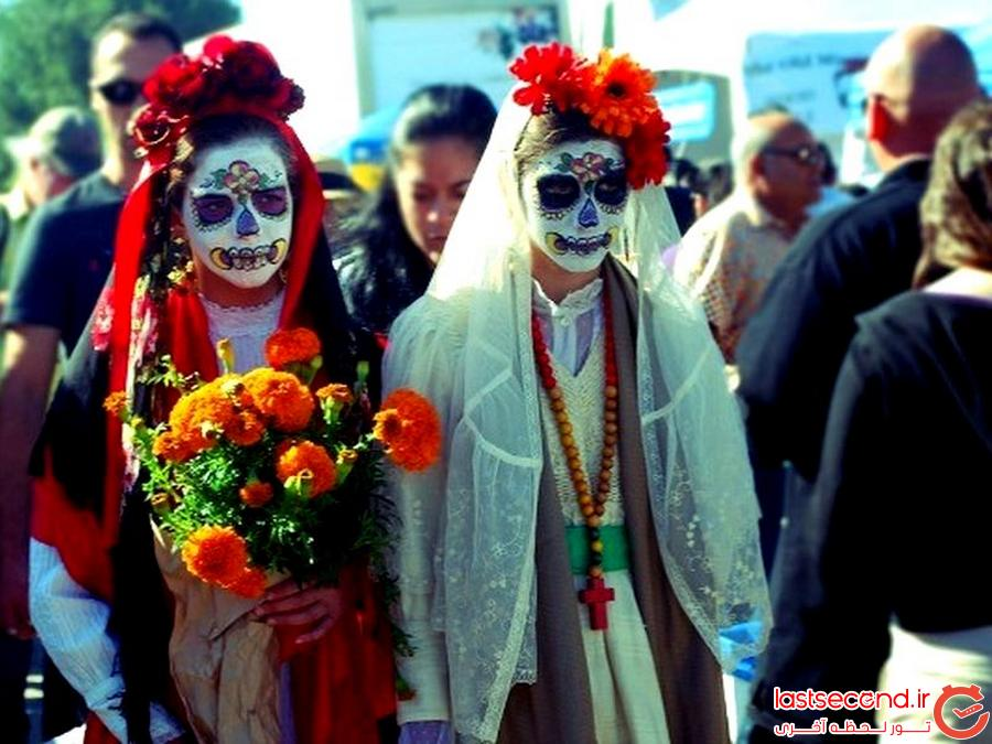 جشن «روز مردهها» در مکزیک