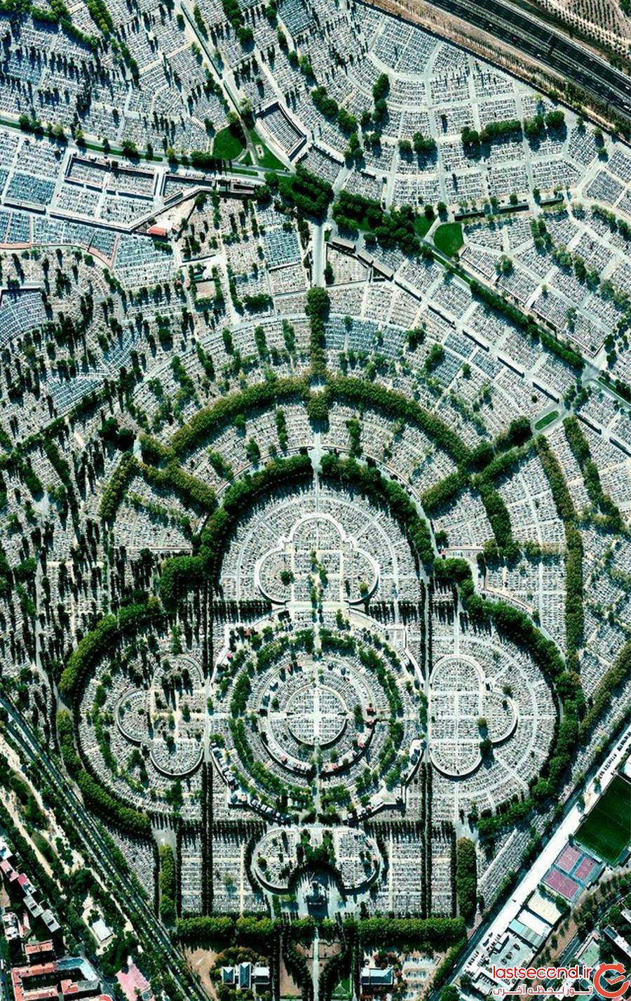 مناظر و نشانه های مشهور قابل رویت از فضا