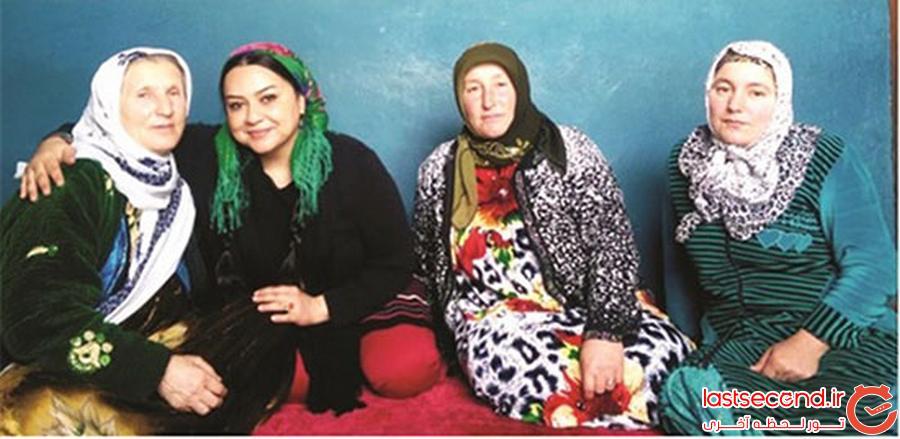 زن جهانگرد ایرانی 