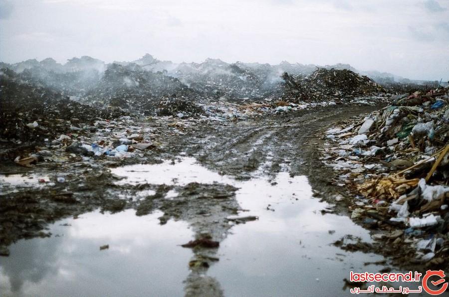 می دانستید که در مالدیو رویایی، یک جزیره ی زباله دانی وجود دارد؟