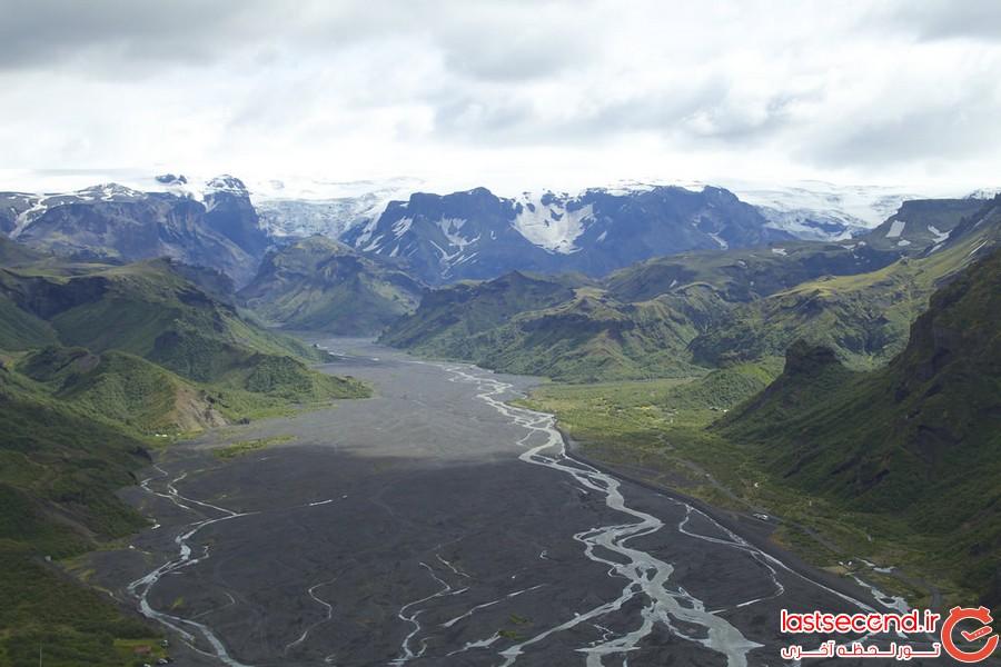 بهترین مسیرهای پیاده روی در طبیعت ایسلند