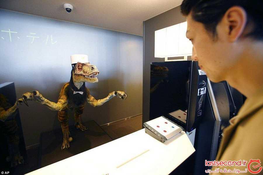 خدمه ی رباتی هتل های ژاپنی