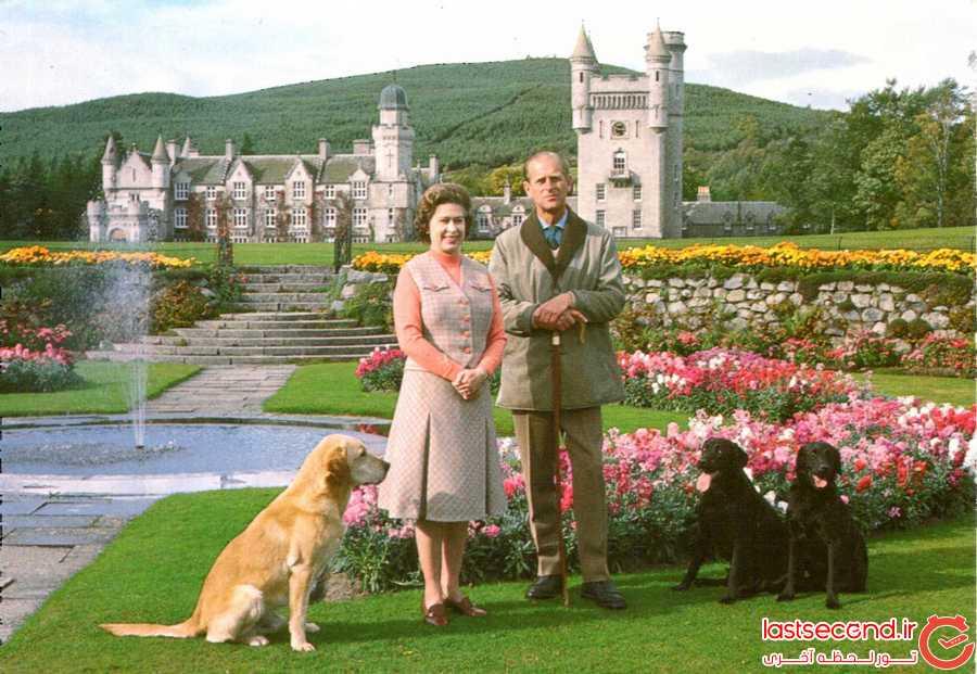 قلعه ی افسانه ای بالمورال در دل طبیعت زیبای اسکاتلند