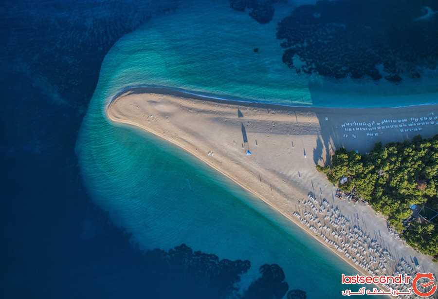 زیباترین ساحل کرواسی