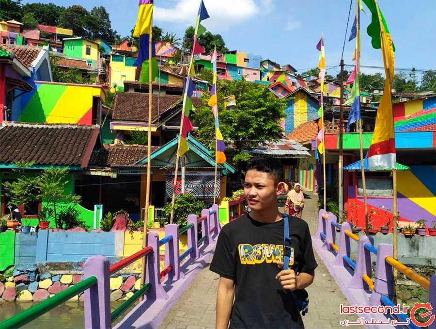 دهکده ی رنگین کمانی، جاذبه ای نوظهور در میان اینستاگرمرها