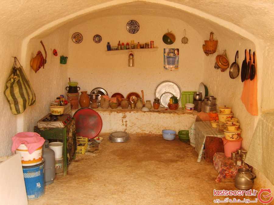 خانه های زیرزمینی ماتماتا