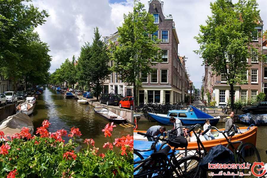 کانال زیبای Jordaan