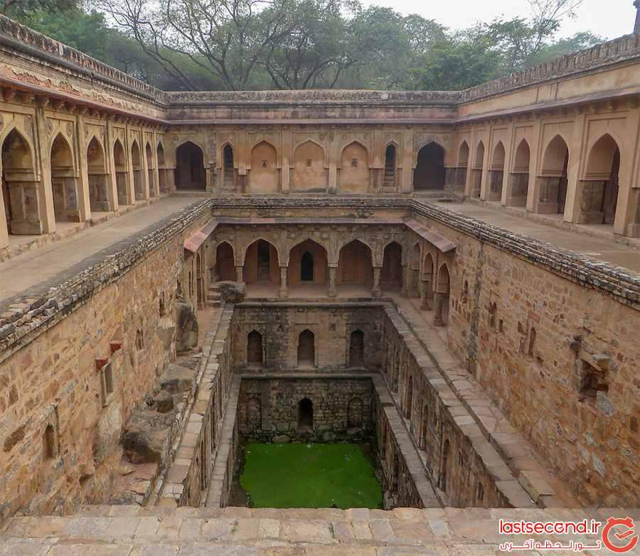 دیوارهای پله ای در هند