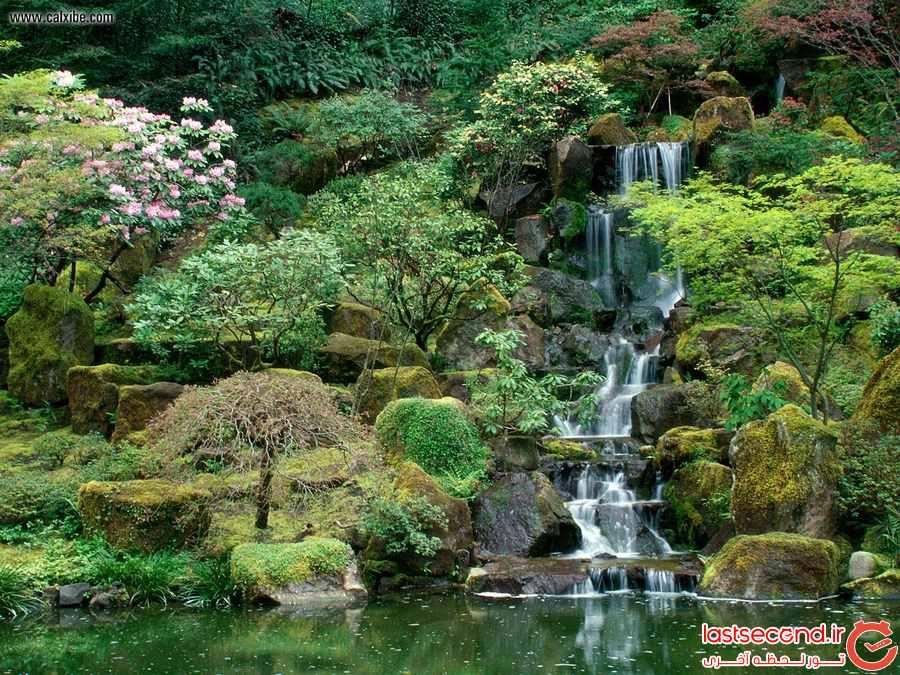  10 باغ ژاپنی خارق العاده  