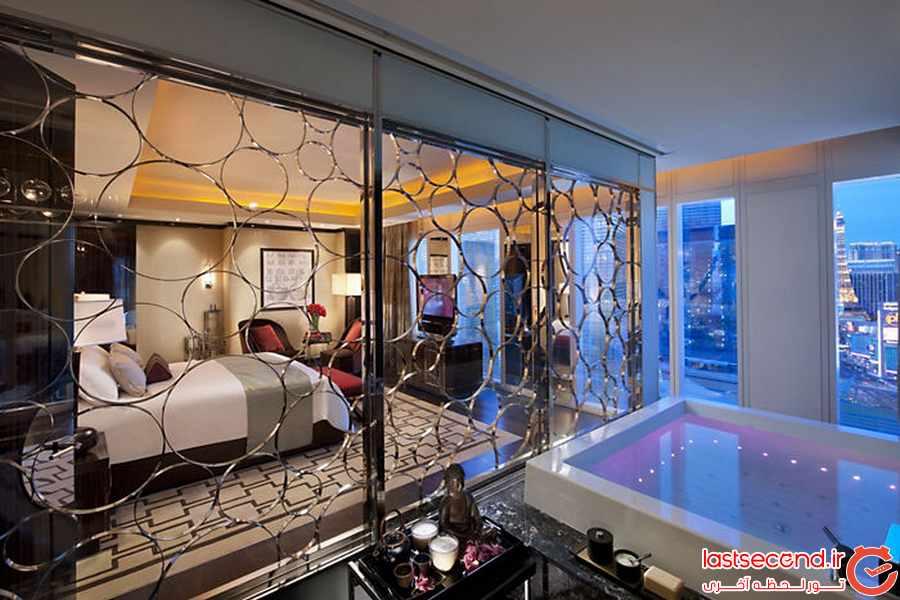 بی نظیرترین سوییت های هتل ها 