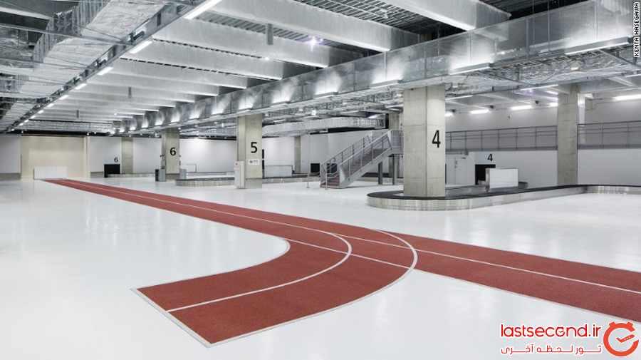 این فرودگاه شما را به دویدن دعوت می کند