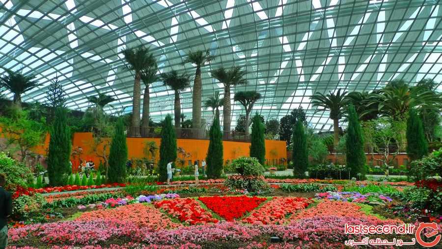 گاردنز بای دی بی ، پارکی زیبا در سنگاپور