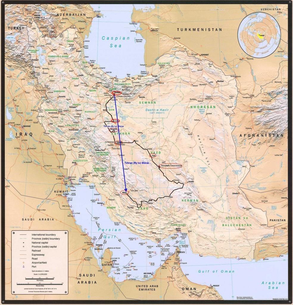 پیشنهادها به توریستهای آمریکایی برای چهار مدل سفر به ایران