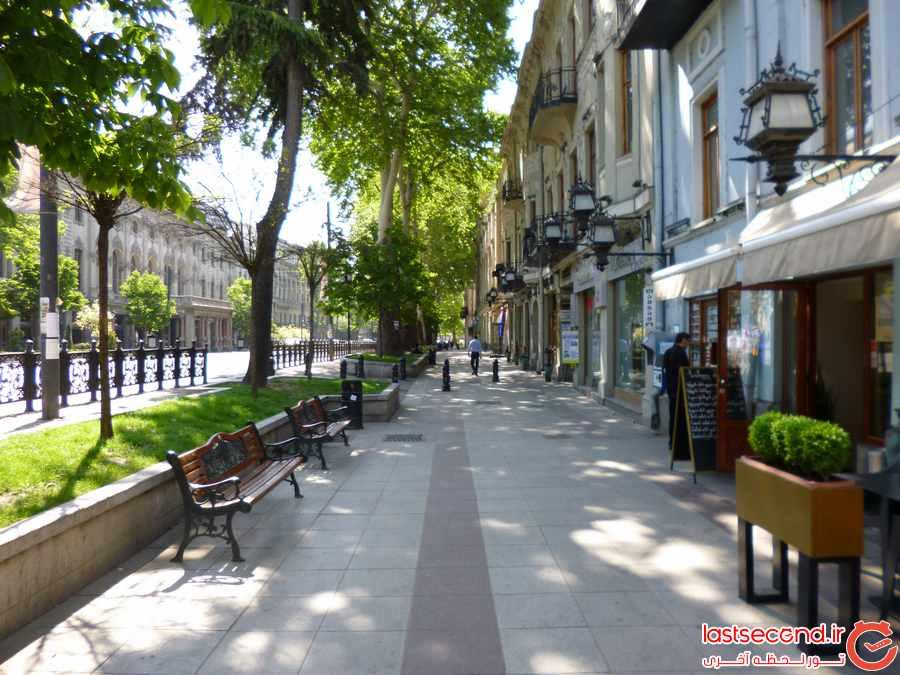 خیابان  Rustaveli