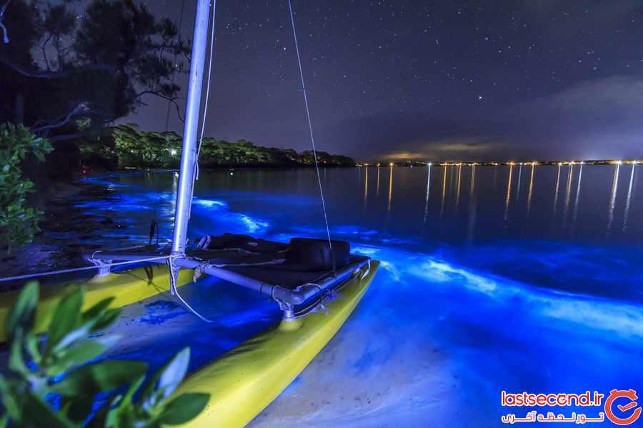 ساحل درخشان در مالدیو  