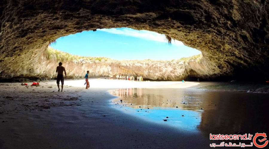 ساحل مخفی در مکزیک