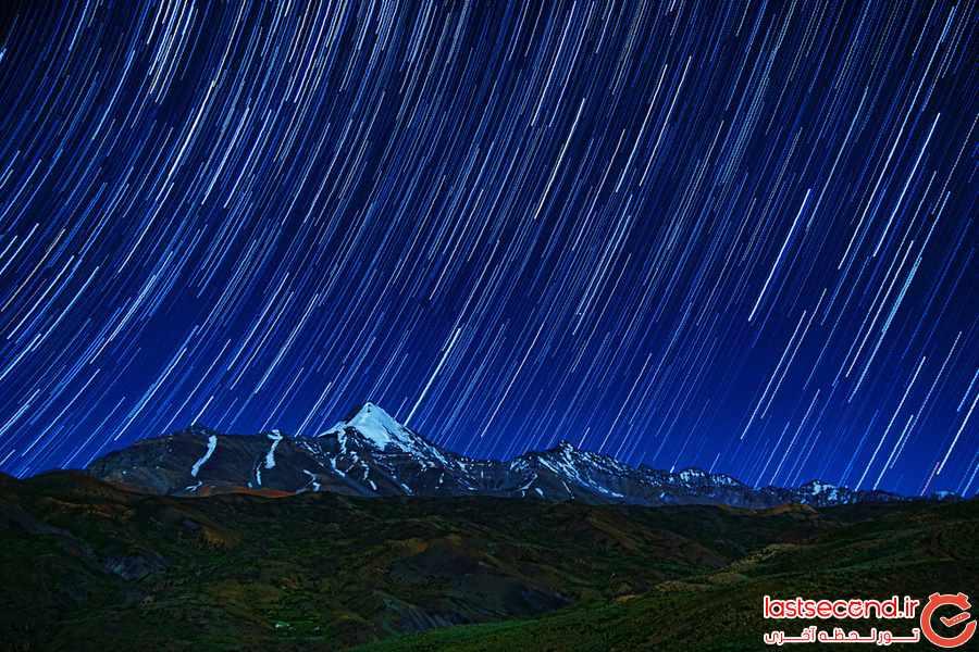 بهترین نقاط برای تماشای ستارگان