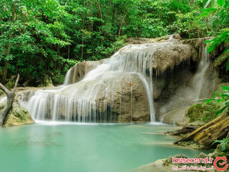 آبشار اروان ، آبشاری افسانه ای در هفت طبقه در تایلند