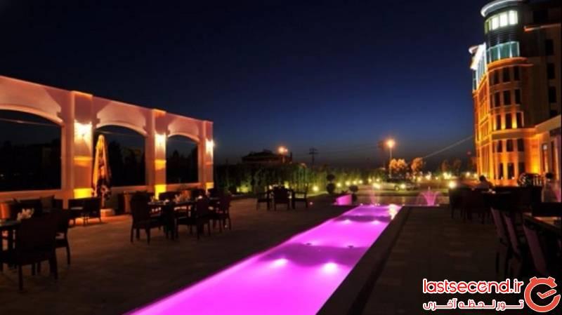 هتل لوکس دابل تری بای هیلتون در نزدیکی دریاچه زیبای وان 