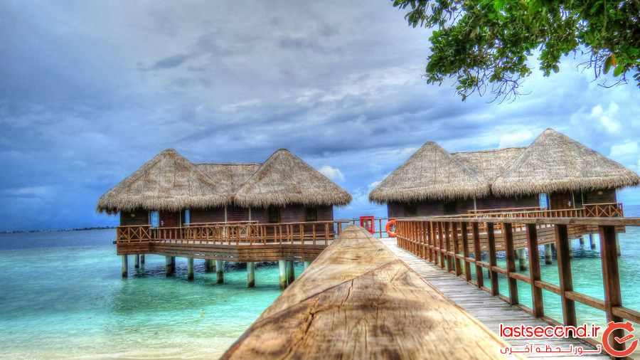 اقامتی آرام در هتل باندوس مالدیو  