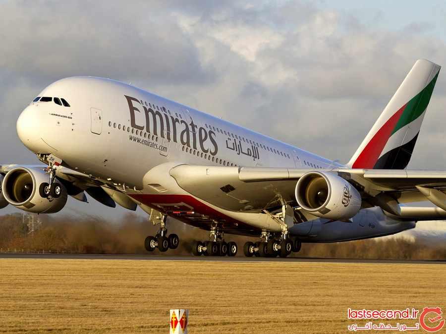 5 زیاد ترین پروازهای بدون توقف جهان