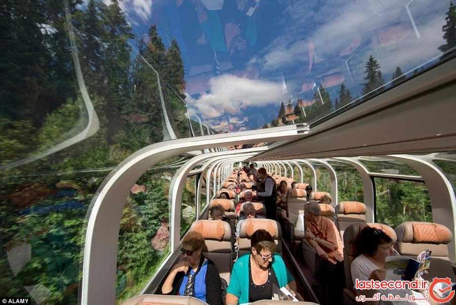 سفری هیجان انگیز در قطار شیشه ای    