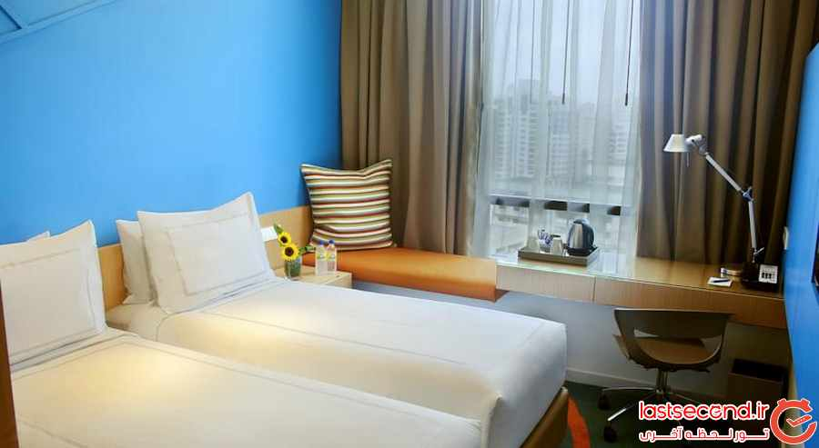 ارزانترین هتل ها در گرانترین شهرهای جهان 