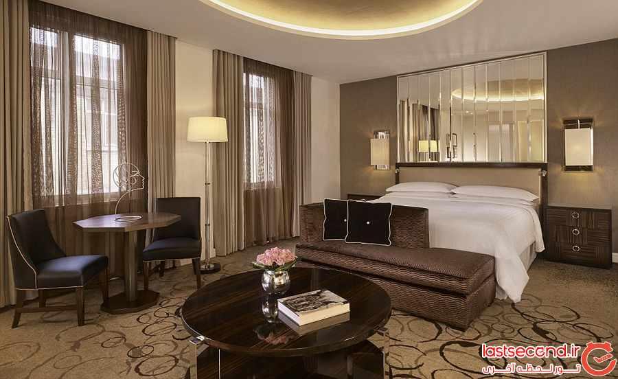 هتل 90 ساله شرایتون لندن پارک لین بازسازی شد  