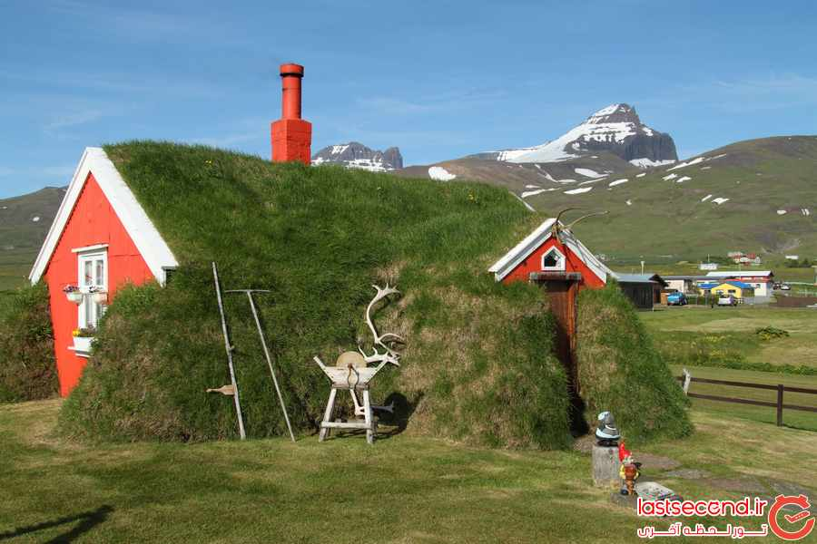 تصاویری زیبا از شرق ایسلند – خانه هابیت ها و غذاهای فوق العاده   
